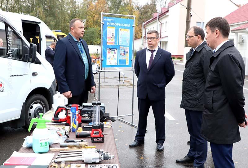 15.10.2020  Министр энергетики посетил Жлобинщину