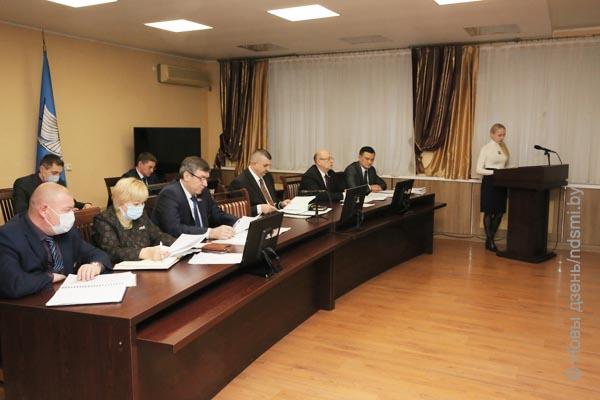30.12.2020  Состоялось последнее в уходящем году заседание Жлобинского районного исполнительного комитета
