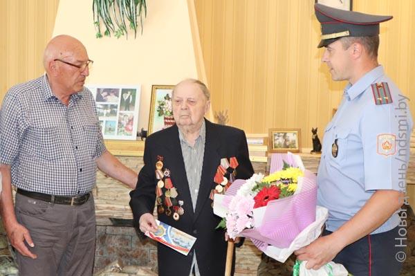 21.07.2020 В Жлобине поздравили с 95-летием ветерана Великой Отечественной войны