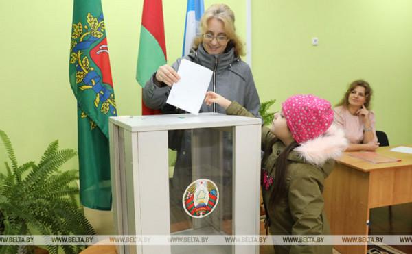 12.11.2019 В Беларуси проходит досрочное голосование на парламентских выборах