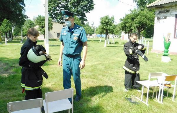 07.07.2020 Жлобинские спасатели проверили знания детей в интерактивном формате