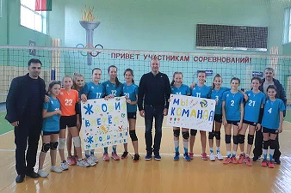 18.11.2019 Жлобинские волейболистки заняли 1 место в первом туре республиканских соревнований