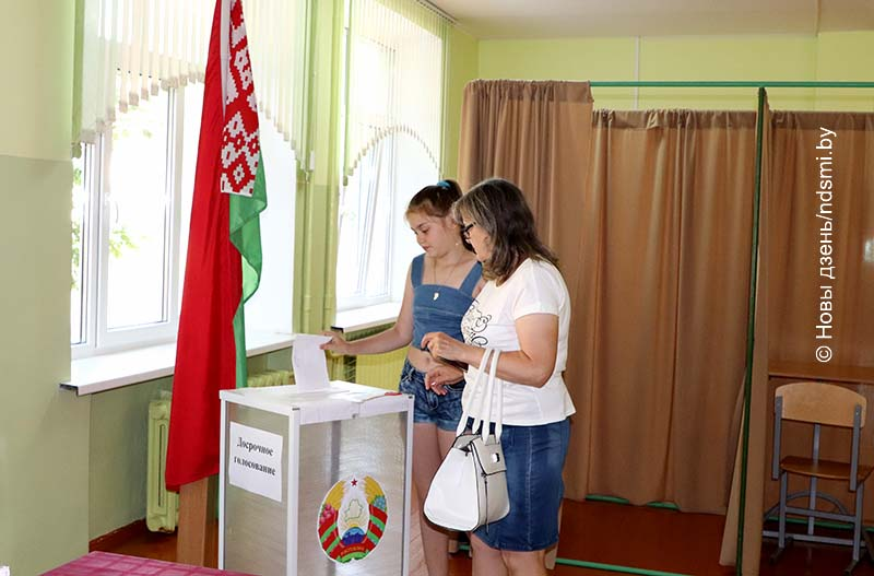 06.08.2020  Досрочное голосование продолжается в Жлобине